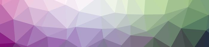 Illustration of abstract low poly purple and green banner background. Illustration of abstract low poly purple and green banner background vector illustration