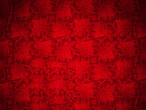 Illustration of abstract red background or Christmas paper with bright center spotlight. Stock Photo