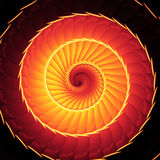 Abstract spiral staircase Royalty Free Stock Images