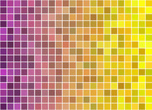 Illustration of abstract texture with squares. Royalty Free Stock Photography