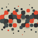 Illustration of abstract texture with squares Royalty Free Stock Photo