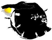 Illustration abstraite avec des gens Image libre de droits