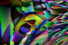 Illustration abstraite colorée de fond Photos stock