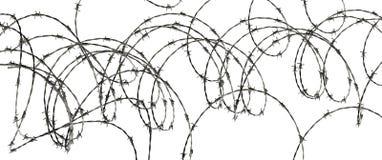 Illustration abstraite de barbelé Image libre de droits