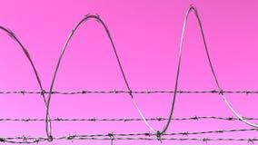 Illustration abstraite de barbelé Photographie stock libre de droits
