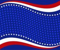 Illustration abstraite de drapeau américain illustration stock