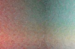 Illustration abstraite de fond bleu, vert et rouge d'Impasto d'impressionniste photos stock