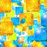 Illustration abstraite de fond de couleur Photographie stock libre de droits