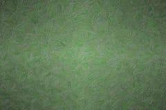Illustration abstraite de fond foncé d'Impasto d'impressionniste de vert de jungle, digitalement produite photo stock
