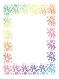 Illustration abstraite de l'ornamental frame Photo stock