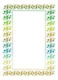 Illustration abstraite de l'ornamental frame Image libre de droits