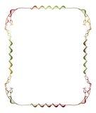 Illustration abstraite de l'ornamental frame Photos stock