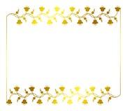Illustration abstraite de l'ornamental frame Photos libres de droits
