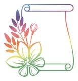 Illustration abstraite de l'ornamental frame Photographie stock libre de droits