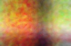 Illustration abstraite de la mosaïque lumineuse de brun, rouge et pourpre par le fond de briques en verre illustration de vecteur