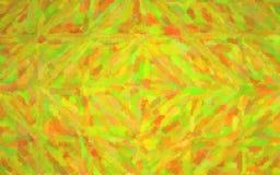 Illustration abstraite de mosaïque lumineuse de peridot par le fond de briques en verre, digitalement produite illustration libre de droits