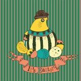 Illustration abstraite de Pâques Images stock