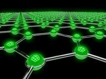 Illustration abstraite de réseau illustration de vecteur