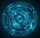 Illustration abstraite de technologie. Photo libre de droits