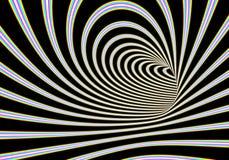 Illustration abstraite de tunnel Photo libre de droits