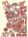 Illustration abstraite de vecteur, illustration stock
