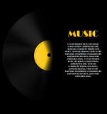 Illustration abstraite de vecteur de fond de musique pour Images libres de droits