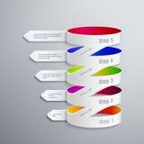 Illustration abstraite du vecteur 3D Digital Photographie stock libre de droits
