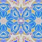 Illustration abstraite Roses bleues illustration de vecteur