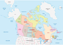 Political Map Of Canada Royalty Free Stock Photography Image - Map of canada political