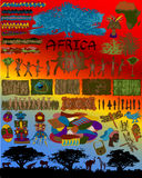 Illustration African Designs Royalty Free Stock Image