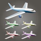 Illustration of an aircraft Royalty Free Stock Photos