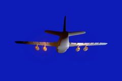 Illustration an airliner. Royalty Free Stock Images