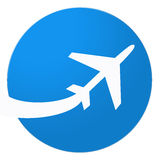 Illustration of airplane Royalty Free Stock Images