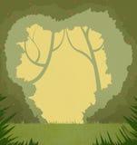 Illustration: The Amazing Forest. Stock Photos