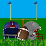 Illustration for American Football Royalty Free Stock Images