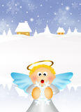 Illustration of Angel Royalty Free Stock Photo