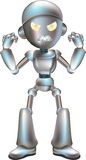 Illustration of angry robot Stock Photo