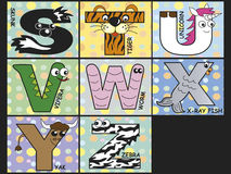 Animal alphabet. Illustration of animal alphabet - stock 3 Stock Photos