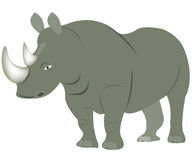 Illustration animal rhinoceros Royalty Free Stock Photos
