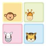 Illustration of animals Stock Photography