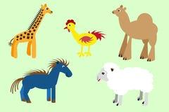 Illustration of animals Royalty Free Stock Photography