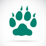 Illustration animals paws print Royalty Free Stock Photos