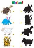 Illustration of animation of animals Stock Photo