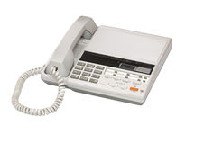 Illustration of answerphone Royalty Free Stock Photo