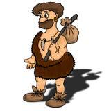 Illustration antique de vecteur d'homme Images stock