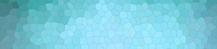 Illustration Aqua des kleinen Hexagon-Fahnenpastellhintergrundes lizenzfreie abbildung