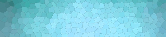 Illustration of aqua pastel Small Hexagon banner background. Illustration of aqua pastel Small Hexagon banner background royalty free illustration