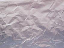 Illustration argentée métallique de papier d'aluminium pour le fond Photo libre de droits