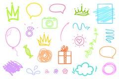 Illustration. Art creation stock illustration
