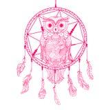Illustration. Art creation Owl royalty free illustration